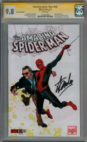 Amazing Spider-man #638 Fan Expo Stan Lee Variant CGC 9.8 Signature Series Signed Stan Lee Marvel comic book
